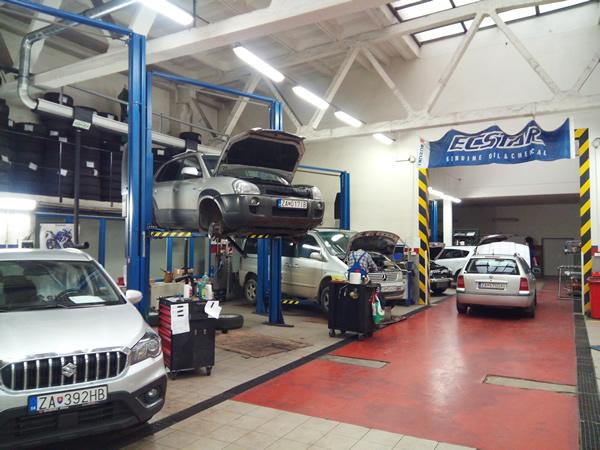 Oprava a diagnostika vozidiel